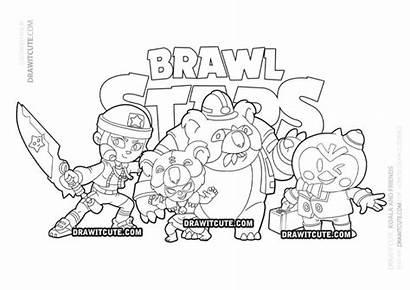 Brawl Stars Nita Draw Koala Coloring Skin