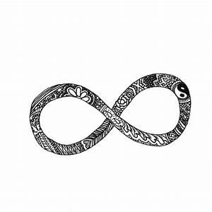 infinity   via Tumblr - image #1552938 by aaron_s on Favim.com