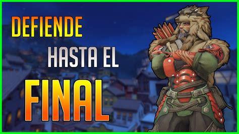 Overwatch Hanzo Defendiendo Hasta Final Youtube