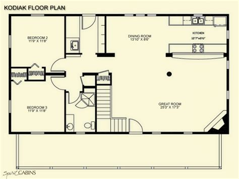 cottage floorplans log cabin floor plans with loft rustic log cabin floor