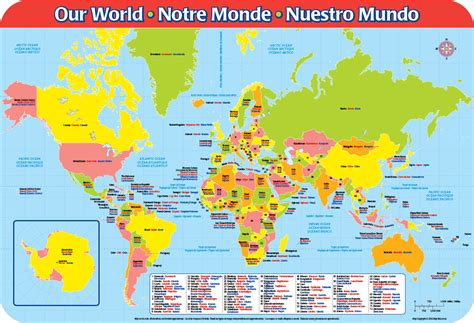 world map  spanish roundtripticketme