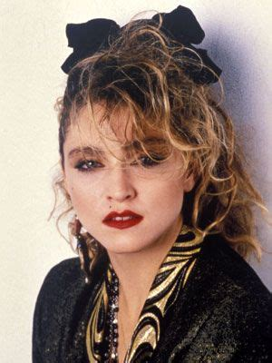 Madonna 80s Hairstyles by Madonna 1985 Hairstyles Dailymakeover 80 S