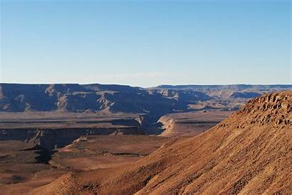 Canyon River Fish Namibia Where Landscape Travel