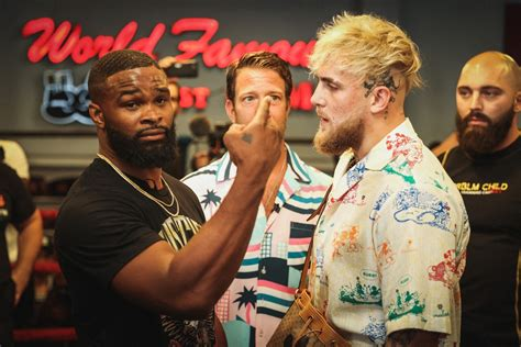 """Tyron woodley breaking news and and highlights for showtime ppv fight vs. """"I'll Still F**K You Up""""- Jake Paul Trashes Floyd ..."""