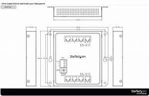 8-port Gigabit Ethernet Switch - L2 Managed
