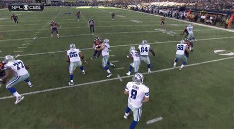 tony romo sets cowboys record  passing yards throws