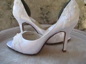 wedding shoes ivory wedding shoes ivory or white lace bridal shoes
