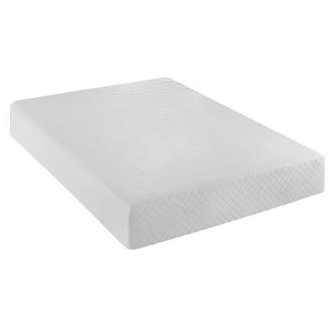 foam mattress reviews serta 10 inch gel memory foam mattress
