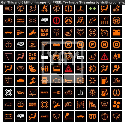car light symbols automotive warning symbols pictures to pin on