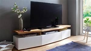 Tv Board Weiß Eiche : tv lowboard sophie tv board unterschrank wei matt lack eiche massiv ~ Bigdaddyawards.com Haus und Dekorationen