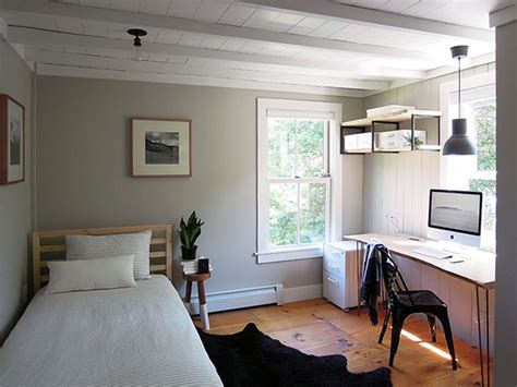 Modern Bedroom Office Design Ideas by An Antique Connecticut Farmhouse Made Modern Apartment