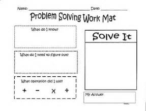 this is a great mat for students to use while problem