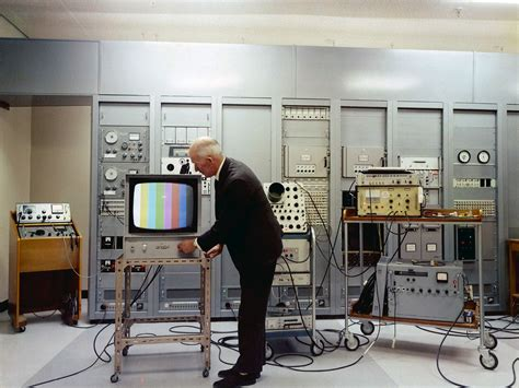 what year did the color tv come out color television