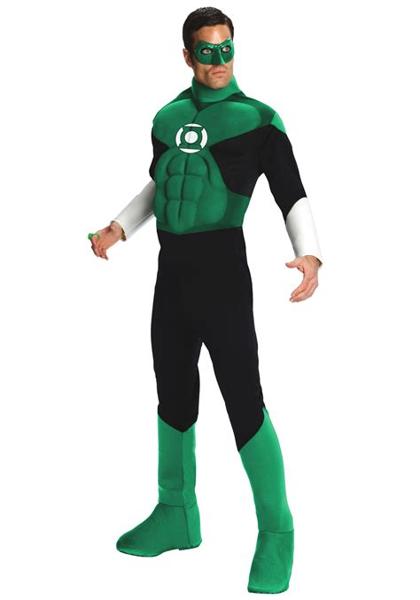 mens green lantern costume deluxe superhero costumes