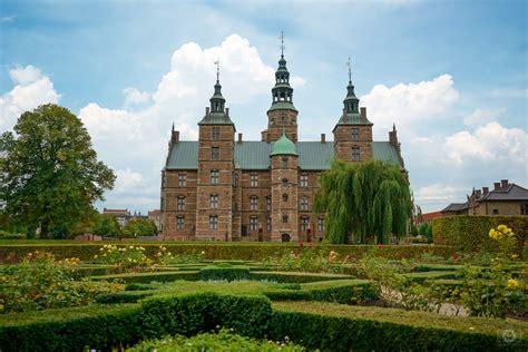 Rosenborg Castle Copenhagen Denmark Background High