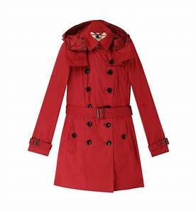 Trench Femme Avec Capuche : vestes et manteaux burberry pour femme galeries lafayette ~ Farleysfitness.com Idées de Décoration