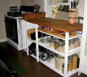 Ikea Küche Regal : white chopping block k che arbeitsfl che k che m bel und wohnungseinrichtung ~ Buech-reservation.com Haus und Dekorationen