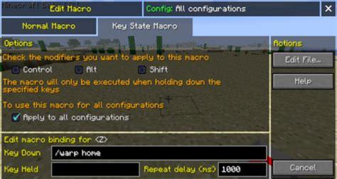 macrokeybind mod  bind commands  keyboard