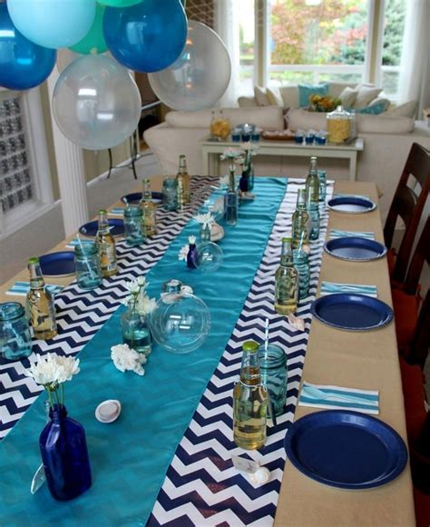 22 Ideas Navy Blue Party Decoration Concept Baby Shower