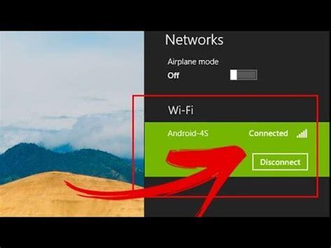 Cara menyambungkan wifi ke laptop mudah banget! cara menyambungkan hotspot hp ke laptop atau komputer. Cara Menyambungkan Wifi Laptop ke Hotspot HP Android - YouTube