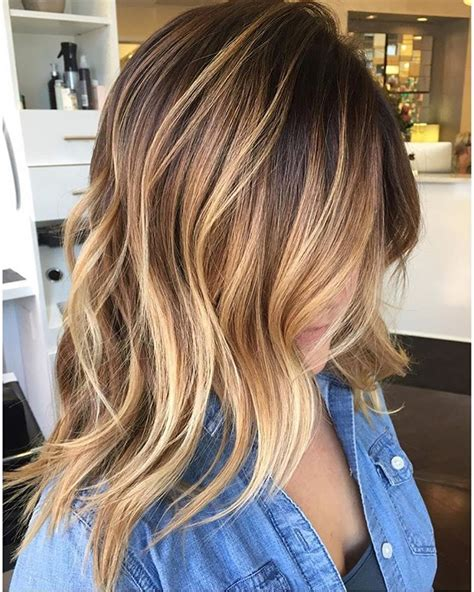 Brown Color Hairstyles by 45 Balayage Hair Color Ideas 2019 Brown Caramel