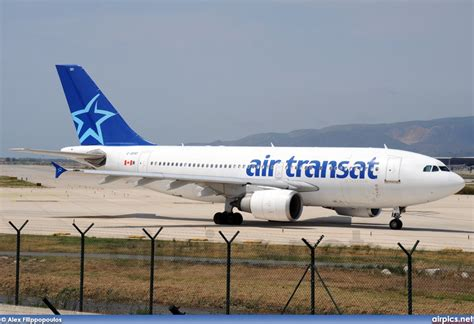 air transat login airpics net c gfat airbus a310 300 air transat large size