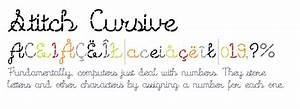 Stitch Cursive - Fonts.com
