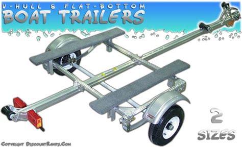 Boat Trailer Winch Canadian Tire by Small Boat Trailer Design W Light Suspension Folding