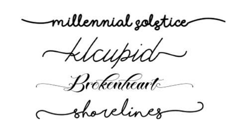 fonts  tails glyphs cheat sheet  script fonts glyph font silhouette fonts