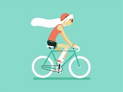 Fixie Pat Grivet Goteo Animation Ciclismo Dribbble