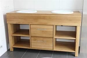 Waschtisch Bad Holz : doppelwaschbecken mit unterschrank holz ~ Sanjose-hotels-ca.com Haus und Dekorationen