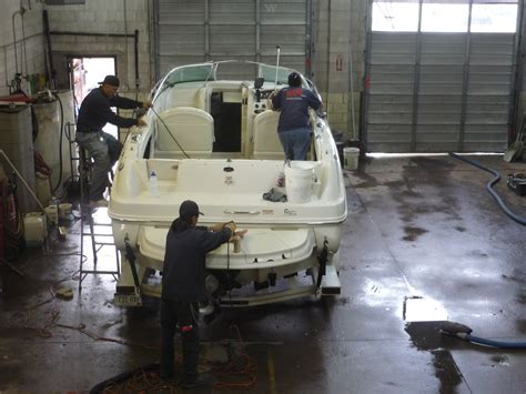 Boat Detailing by Boat Cleaning Washing Detailing Wash On Wheels