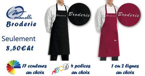 tablier de cuisine personnalisé brodé tablier cuisine personnalisé tablier brodé broderie
