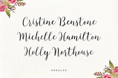 blingtastic script kreativ font