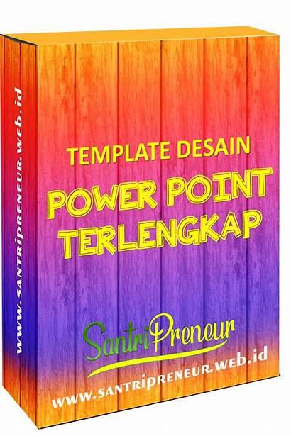 Template Desain Santripreneur Power Point Terlengkap Ppt