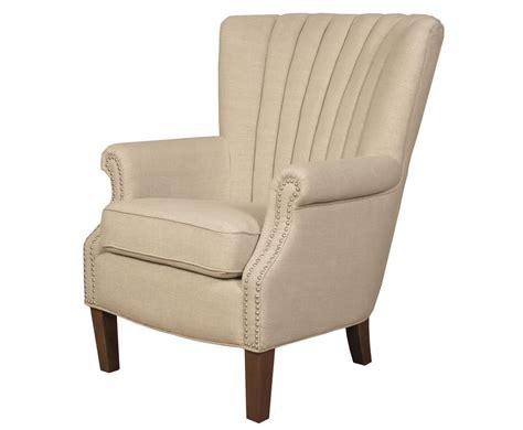 Faringford Beige Fabric Fireside Armchair
