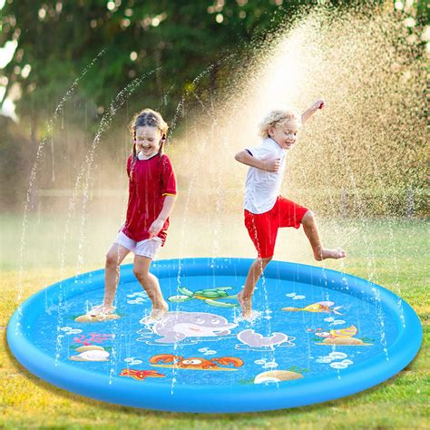 Backyard Promotions by Sprinkle Splash Pad 68 39 Water Play Mat Toys