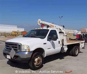 Ford F450 Service Mechanics Crane Truck 7  3l Diesel  1995