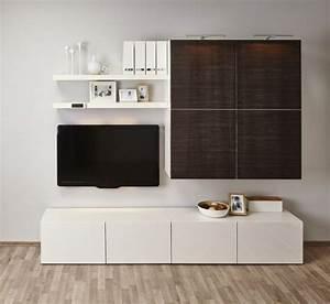 Ikea Lounge Möbel : ikea besta regal aufbewahrungssystem weiss holzoptik dunkel tv kosole wohnwand bodengleich ~ Eleganceandgraceweddings.com Haus und Dekorationen