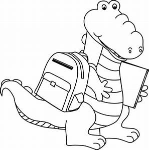 Alligator Clip Art Black And White