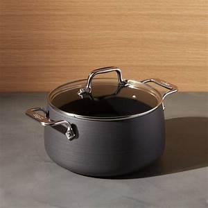 Pots à épices : all clad ha hard anodized non stick 4 qt soup pot with lid reviews crate and barrel ~ Teatrodelosmanantiales.com Idées de Décoration