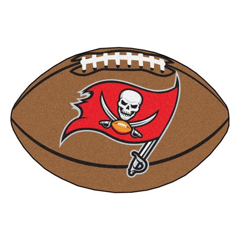 fanmats nfl ta bay buccaneers brown 1 ft 10 in x 2 ft 11 in specialty accent rug 5857