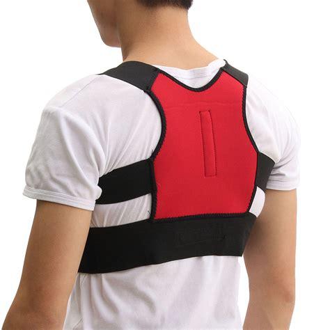 Unisex back support posture corrector lumbar correction ...