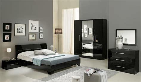 repeindre une chambre à coucher chambre complete gloria noir