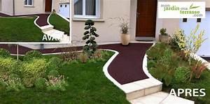 jardin contemporain monjardin materrassecom With amazing decoration d un petit jardin 16 deco cocooning dans la maison