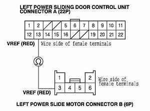 Driver Side Sliding Door On My 2005 Honda Odyssey Doesn U0026 39 T