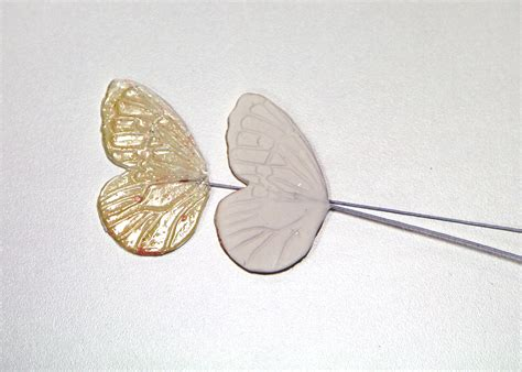 How To Use Gelatin To Make A Lace Applique And Butterfly