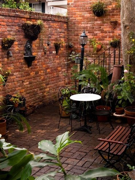 New Patio Designs by New Orleans Style Courtyard Houzz