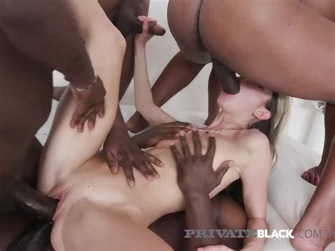 4 Black Cocks Fuck Gina Gerson In Every Damn Hole Free