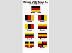 Versions of the German flag by Kristo1594 on DeviantArt